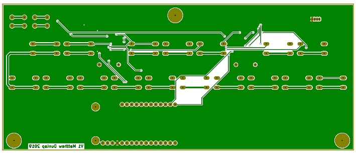 PCB Back Copper Layer