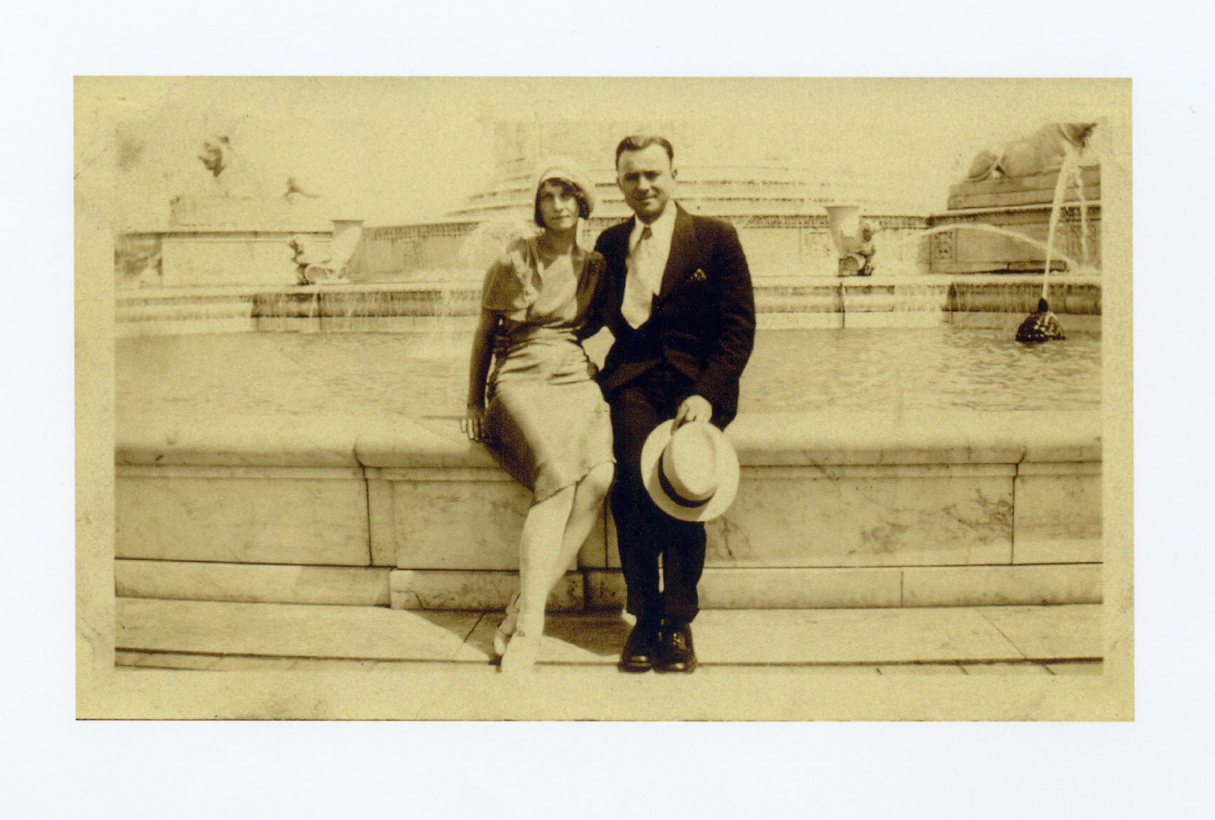 JU's Mother and Father, Teresa and Joseph, c.1930