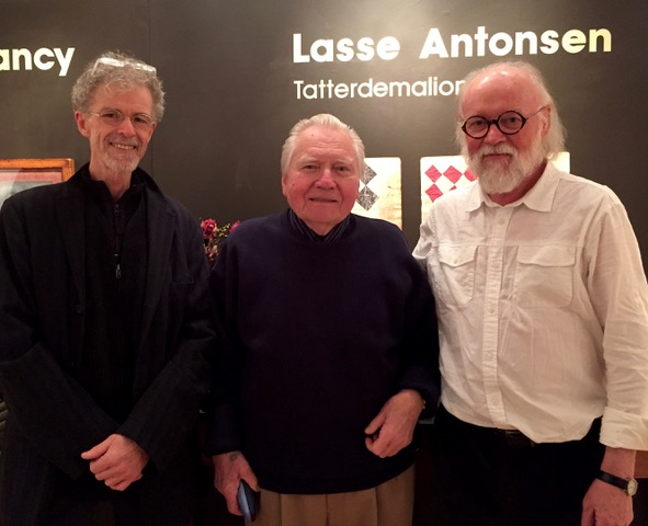 Paul Clancy, JU, and Lasse Antonsen.