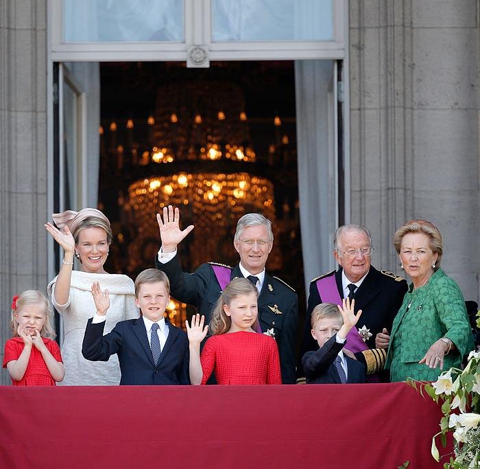 Name einfügen Königlicher Palast Brederodestrasse 16 1000 Brüssel Belgien   Foto: Getty Images