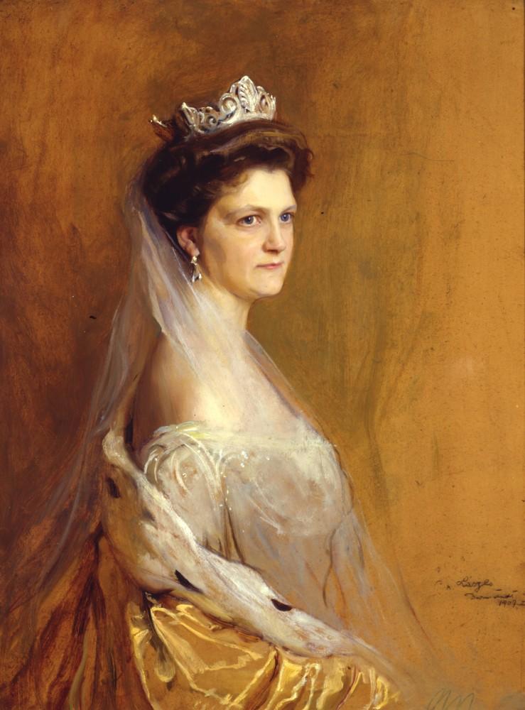 Einen Monat vor ihrem eigen Tod verlor Eleonore zu Solms-Hohensolms-Lich (*1871-†1937) ihren Ehemann Foto: Public Domain