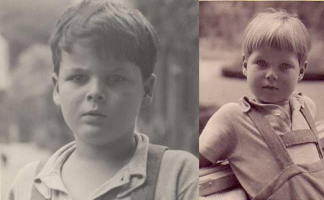 Die Prinzen Ludwig (li.) und Alexander starben in den Flammen. Fotos: Gemeinfrei