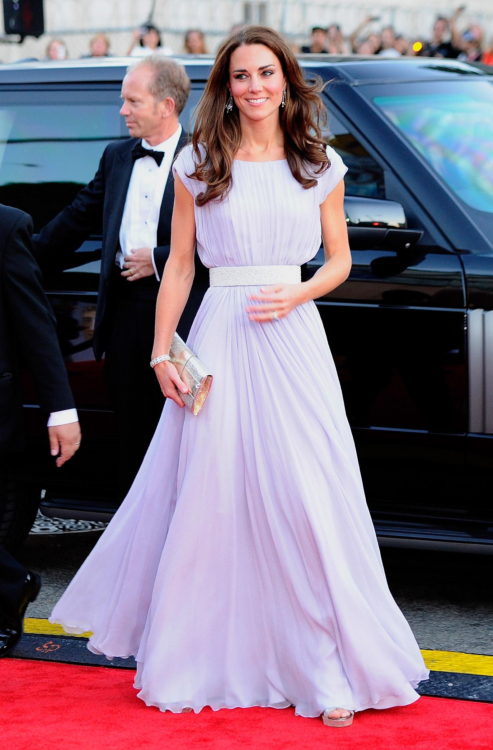 Bei der BAFTA-Gala 2011 in Los Angeles wurden alle von Kates Outfit verzaubert.   Foto: Getty Images