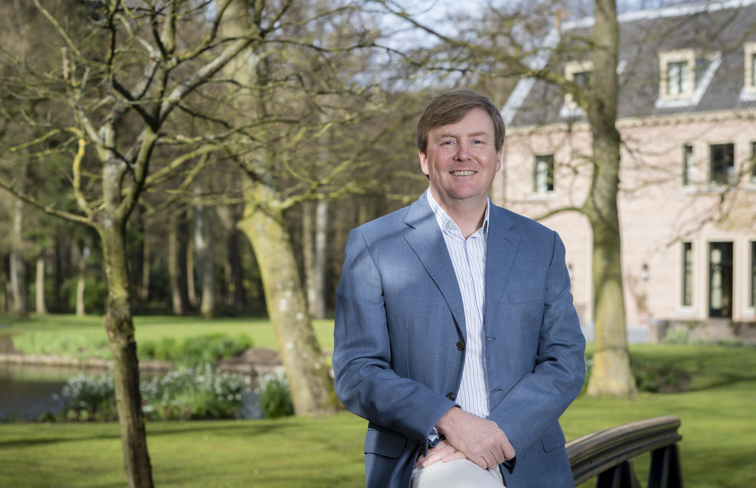 Ob König Willem-Alexander sich wohl gerne an den Spitznamen seiner Jugend erinnert?   Foto: RVD, Frank van Beek