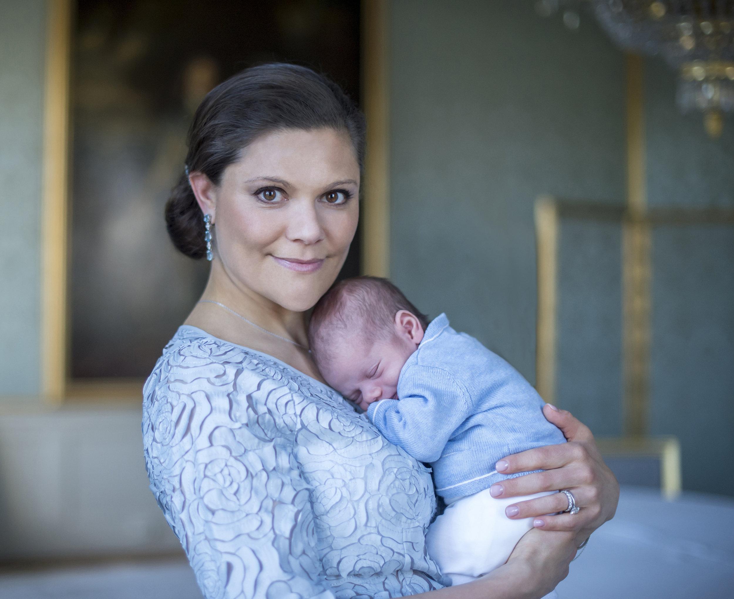 Kronprinzessin Victoria ist mit Leib und Seele Mutter  Foto: Kate Gabor, Kungahuset.se