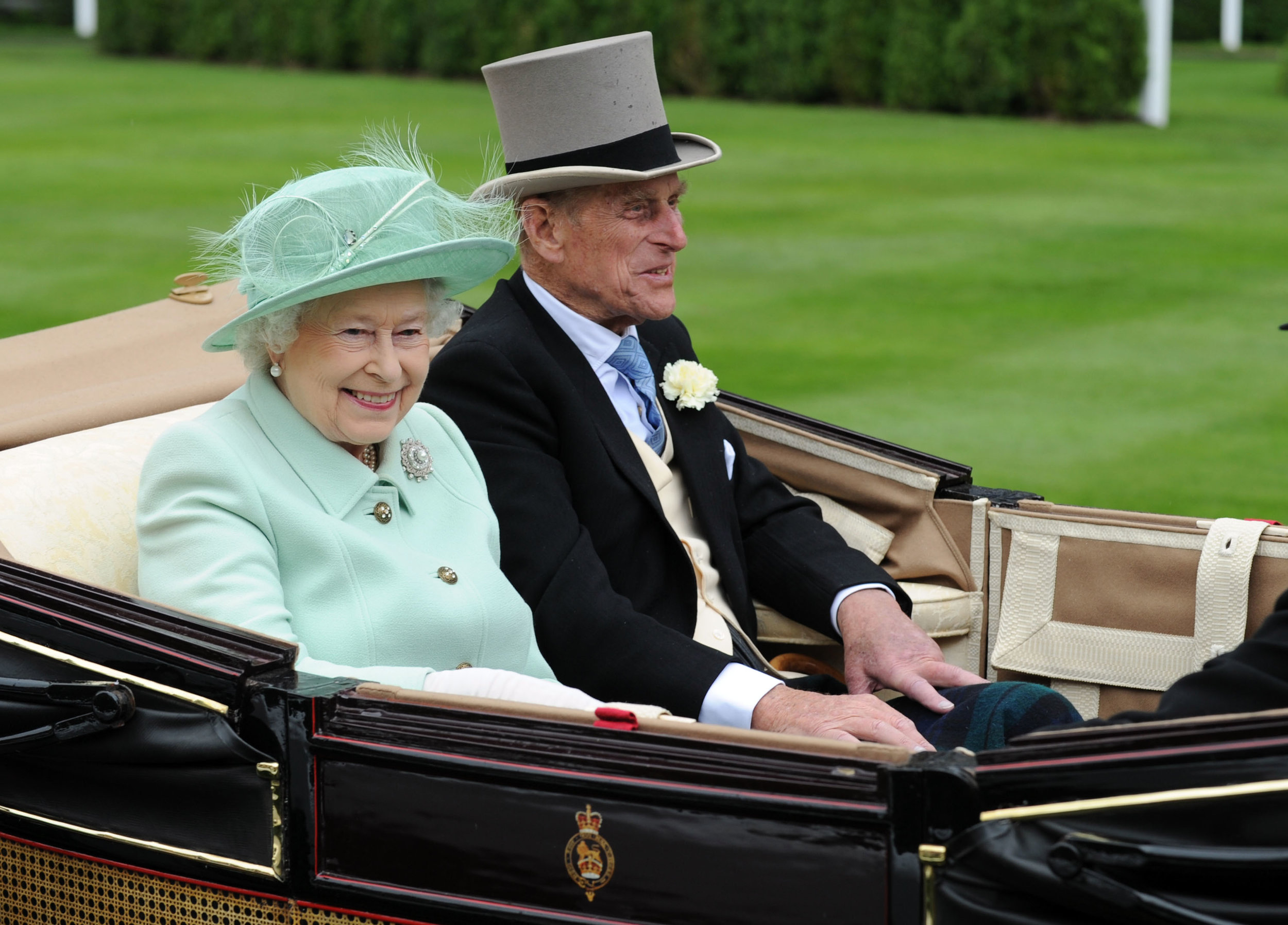 Her Majesty The Queen and The Duke of Edinburgh   Buckingham Palace London SW1A 1AA    Foto: Getty Images