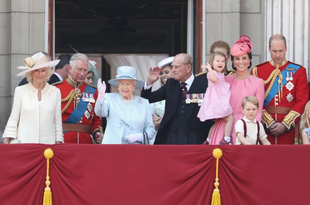 Bald wird es auf dem Balkon des Buckingham Palastes noch ein wenig voller   Foto: Getty Images