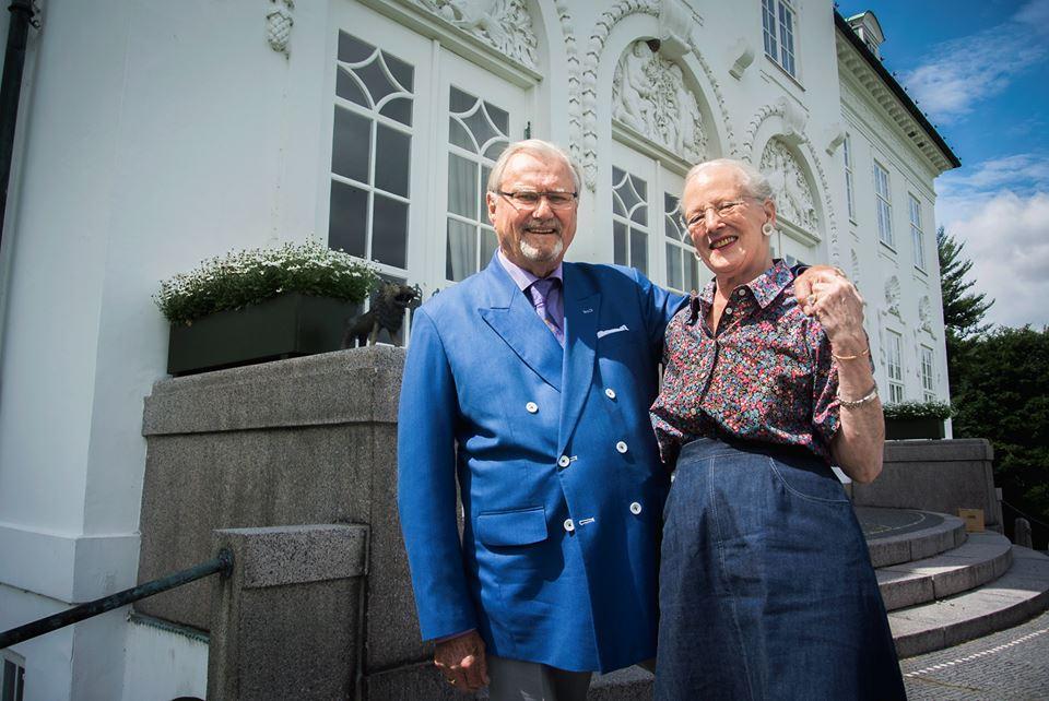 Margrethe und Henrik sind seit über 50 Jahren ein Paar   Foto: Kongehuset.dk