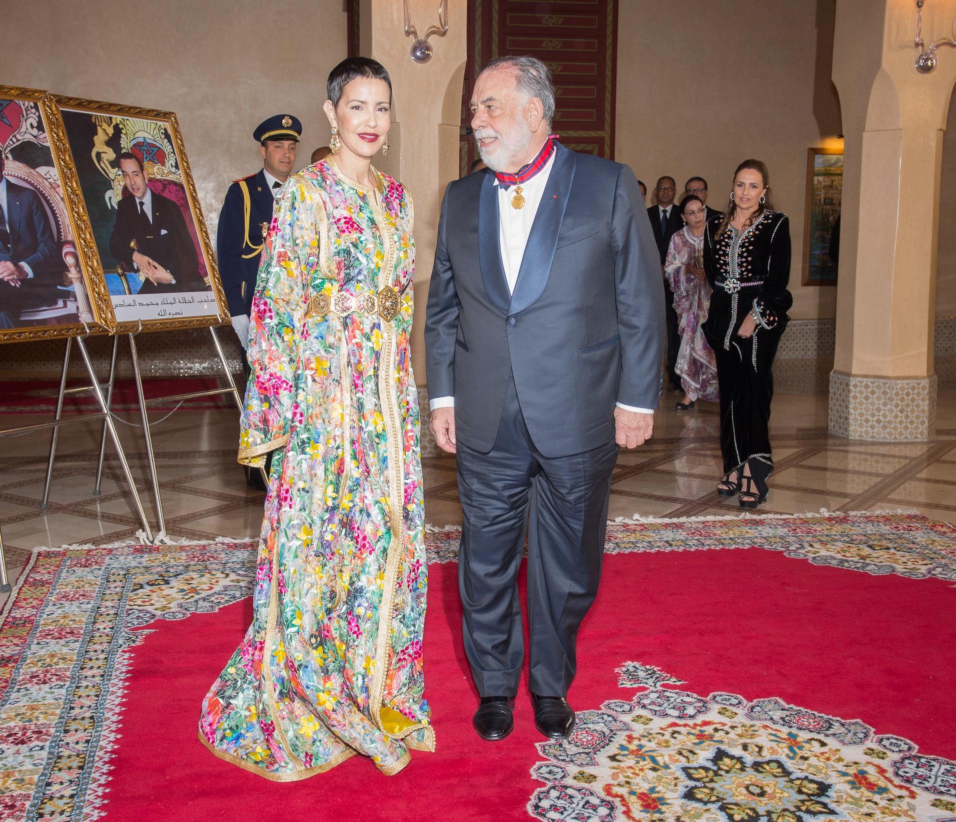 Prinzessin Meryem bei einem Termin in Paris   Foto: Getty Images