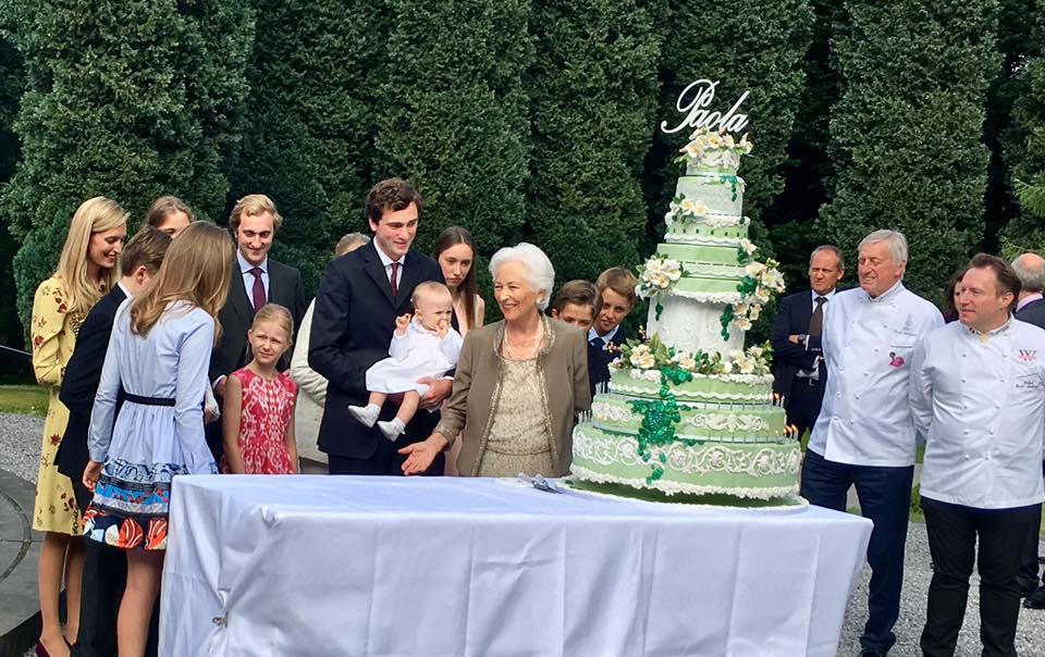 Ihren 80. Geburtstag feierte Paola mit ihrer Familie schon Ende Juni  Foto: Belgische Monarchie
