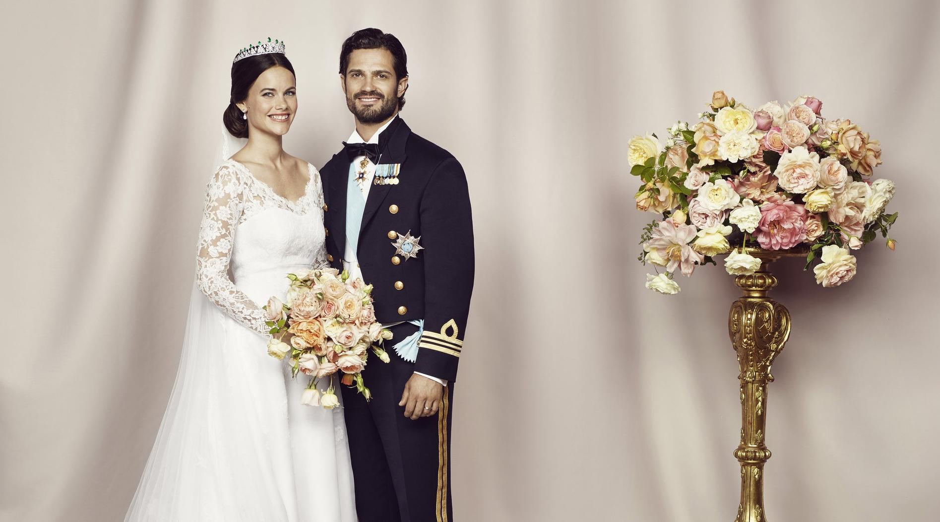Am Ende hat die Liebe von Sofia und Carl Philip gesiegt Foto: Kungahuset, Mattias Edwall