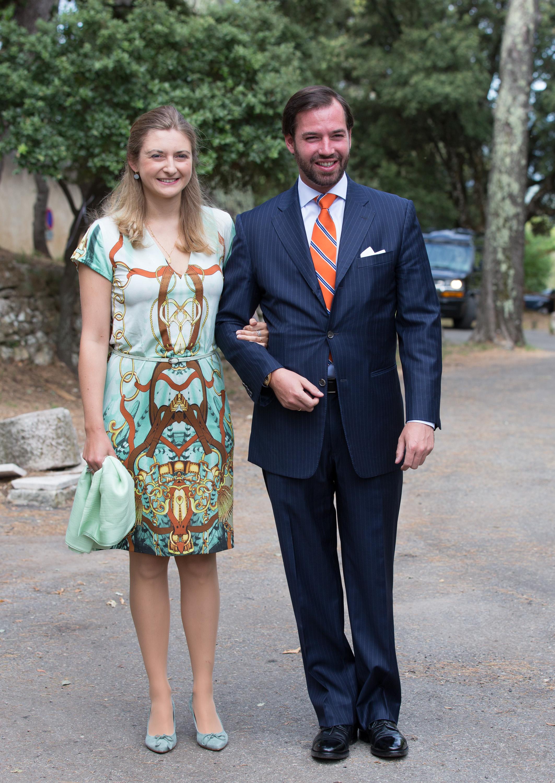 Am 19. Oktober feiern Stephanie und Guillaume ihren fünften Hochzeitstag   Foto: Getty Images