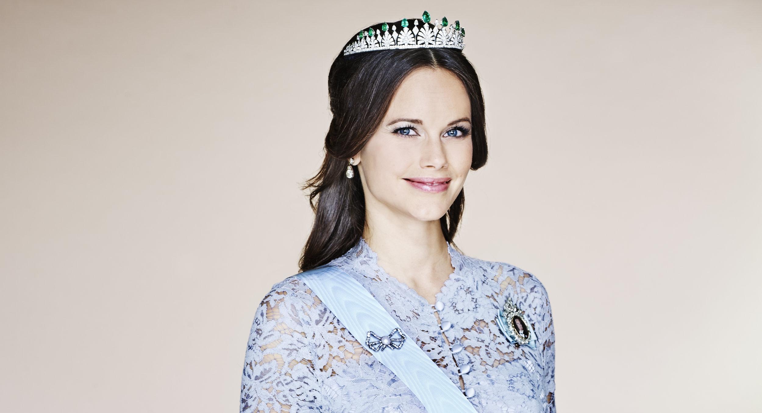 Prinzessin Sofia bekam diese Tiara von ihren Schwiegereltern zur Hochzeit.  Foto: Anna-Lena Ahlström kungahuset.se