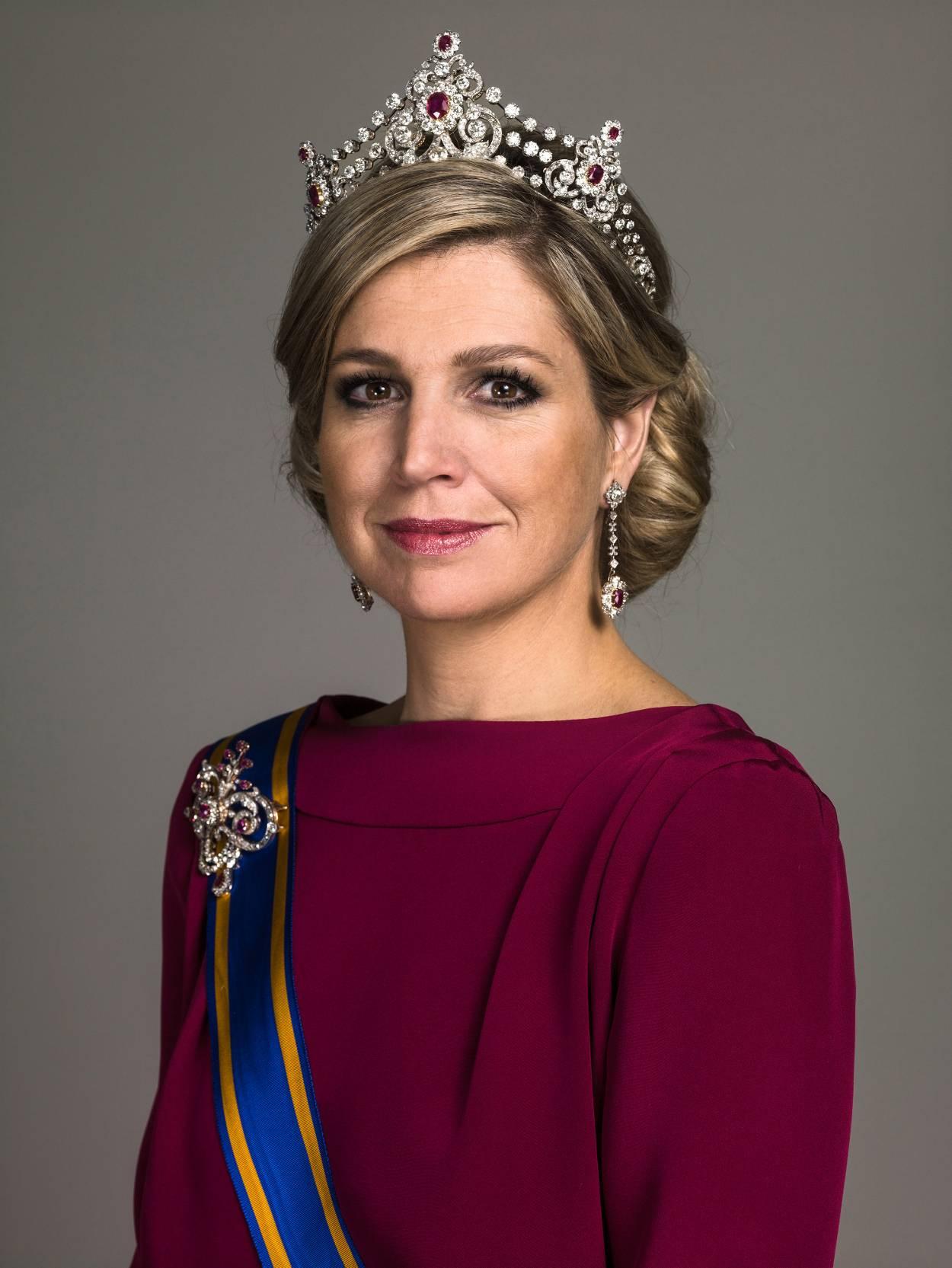 Irgendwann wird auch Maximas Tochter Amalia diese Tiara tragen. © RVD, Koos Breuke