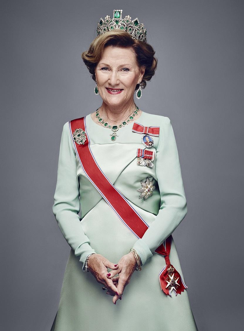Zu vielen Anlässen hat Sonja diese Tiara von Kaiserin Joséphine bereits getragen.   Foto: Jørgen Gomnæs, The Royal Court
