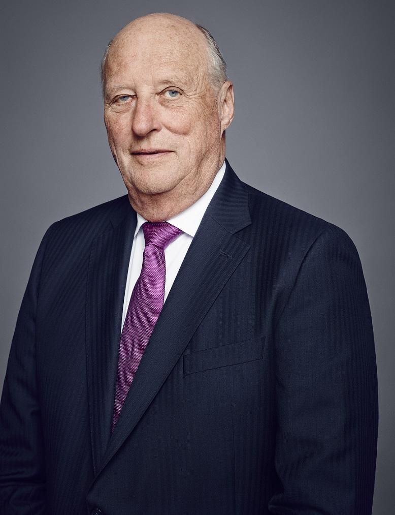 Wohlauf und lebendig: König Harald geht es gut   Foto: Jørgen Gomnæs / The Royal Court.