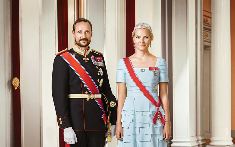 Kronprinz Haakon und Kronprinzessin Mette-Marit müssen entsetzt sein   Foto: Jørgen Gomnæs, the Royal Court