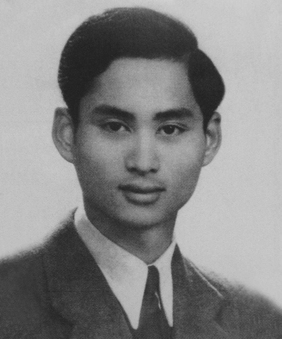 König Rama VIII. von Thailand (*1925–†1946)   Foto:    Gemeinfrei