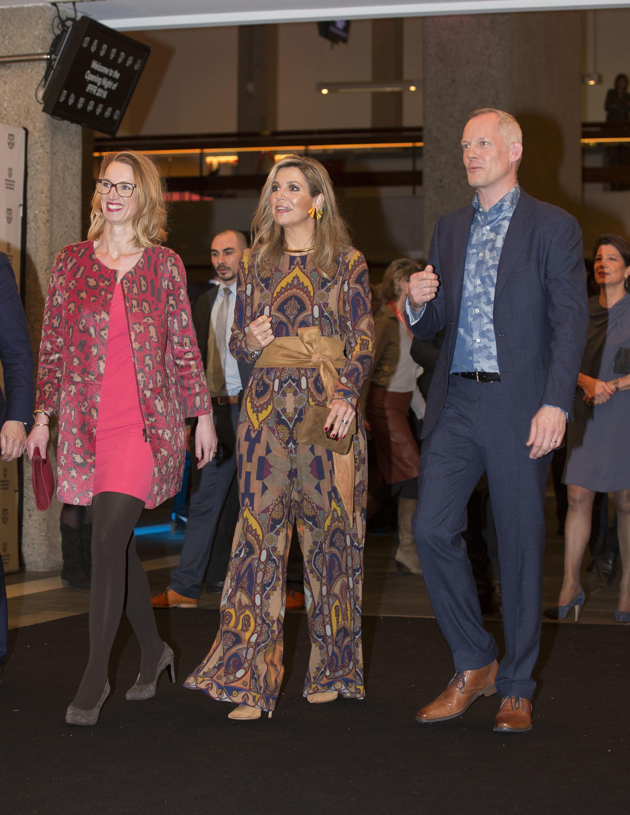 Die Niederländerin bei einem Besuch des Filmfestivals in Rotterdam.  © Getty Images