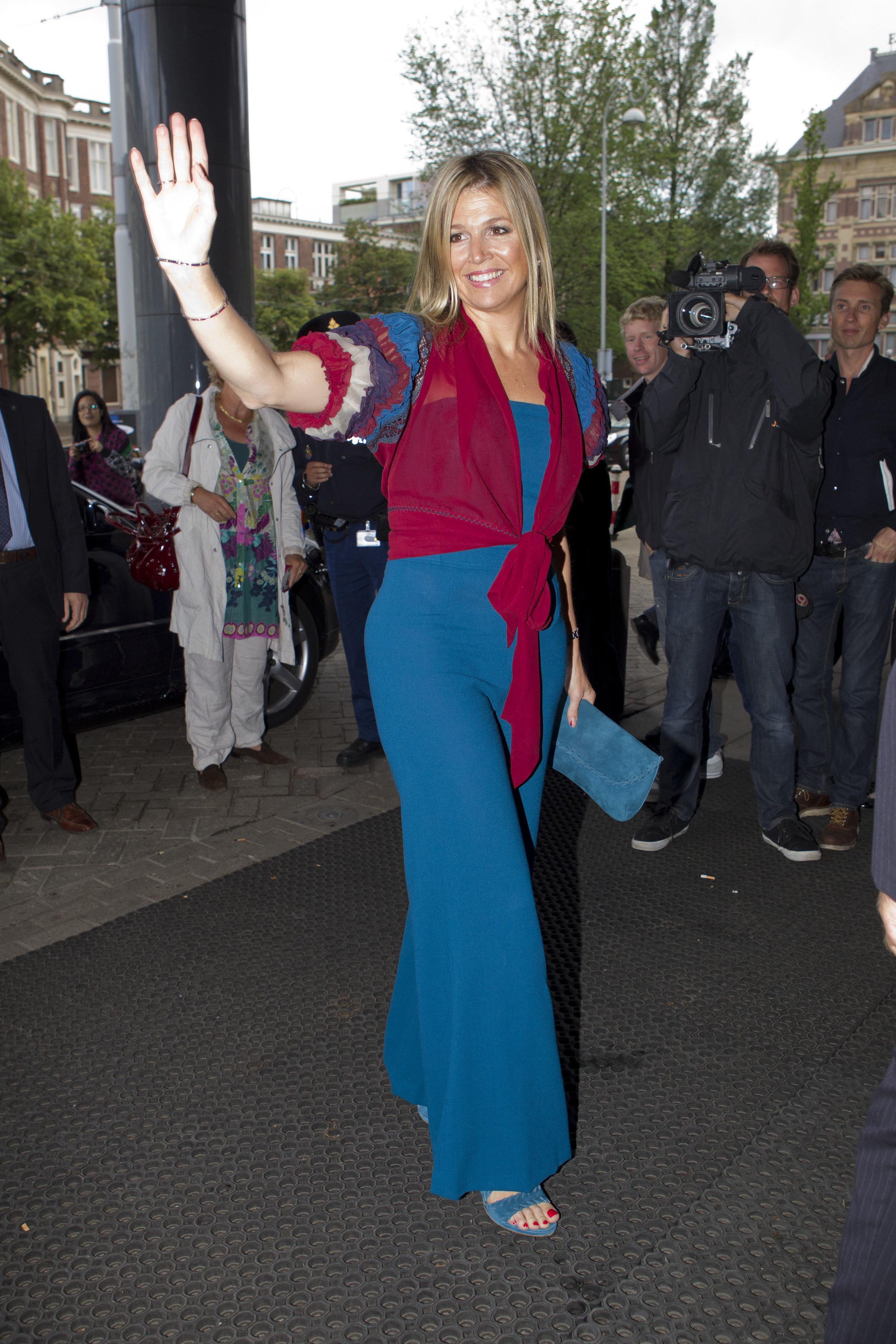 Viel zu leger für eine Königin – finden ihre Kritiker  Foto: Getty Images