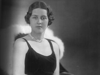 Prinzessin Cecilia von Griechenland und Dänemark (*1911-†1937)   Foto:    Gemeinfrei