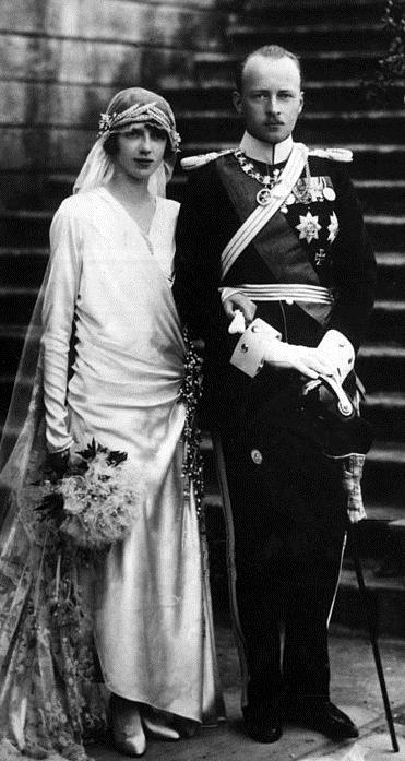1925 heiratet Mafalda den deutschen Prinzen Philipp von Hessen. Das Paar lebt hauptsächlich in Italien  Foto: Public Domain