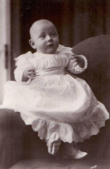 Prinz John von Großbritannien und Irland als Baby.  Foto:    Gemeinfrei
