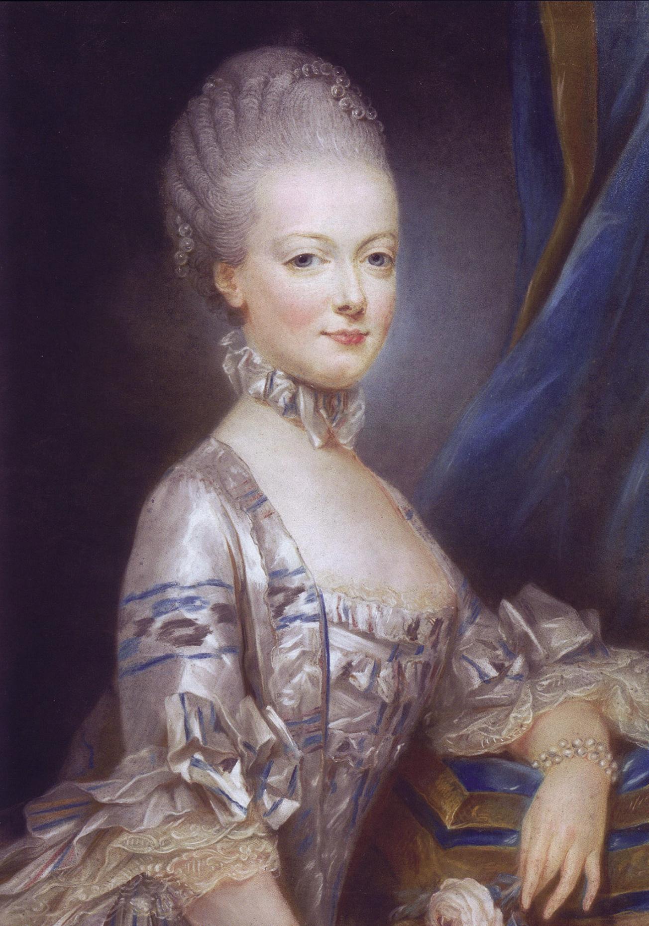 1769: Ein Jahr vor ihrer Hochzeit mit dem französischen Thronfolger   Foto: Gemeinfrei