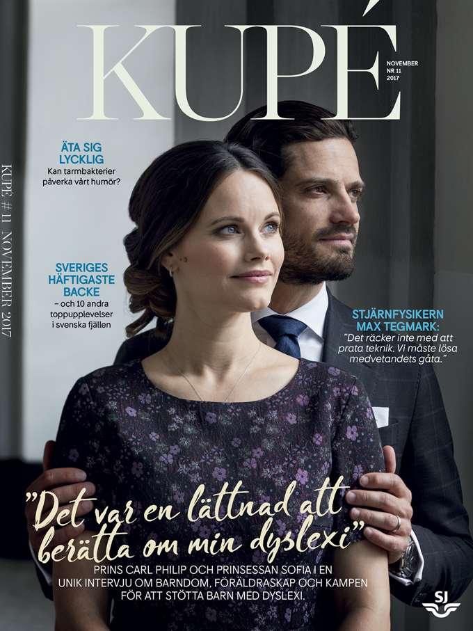 """In dem Journal """"Kupé"""" hat das Paar offen über sein Leben gesprochen   Foto: PR"""