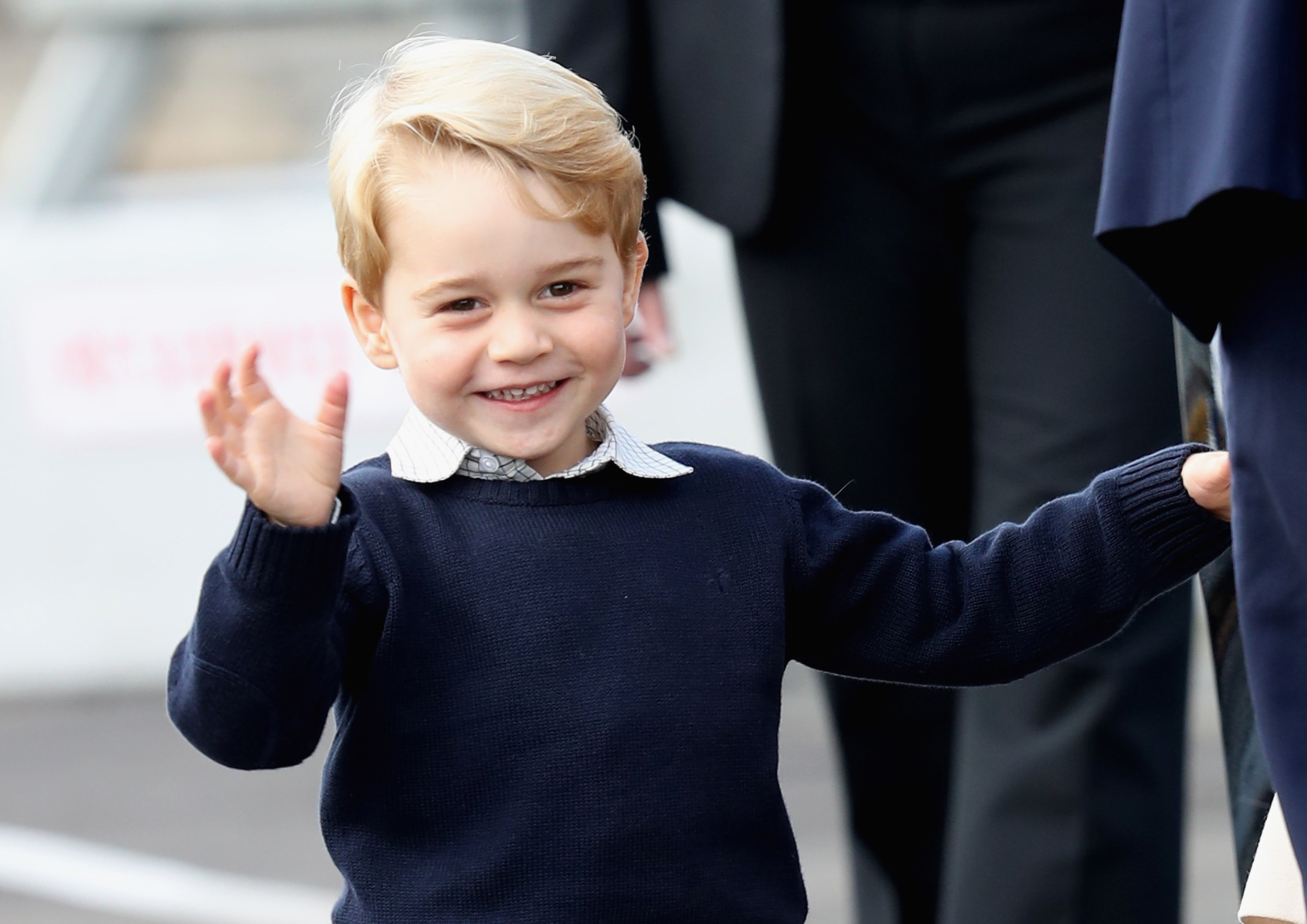 Ganz ohne Casting hat Prinz George seine erste TV-Rolle ergattert    Foto: Getty Images