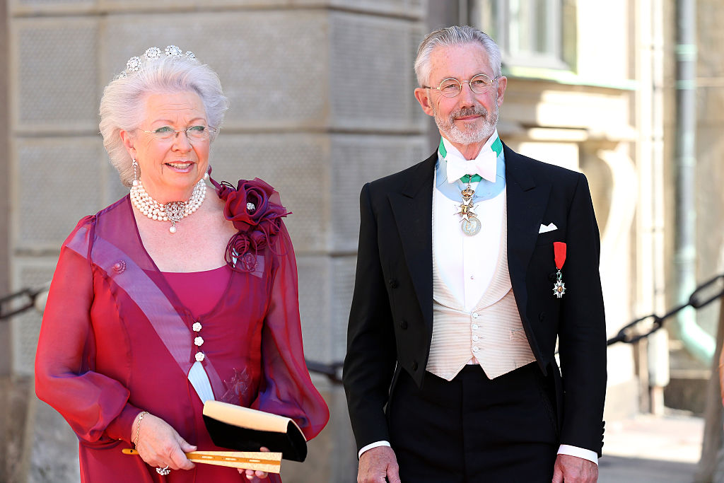 Nach ihrer Krebserkrankung ist Prinzessin Christina auf dem Weg der Besserung. Ihr Mann   Tord Gösta Magnuson wird sie zu der Taufe begleiten   Foto: Getty Images