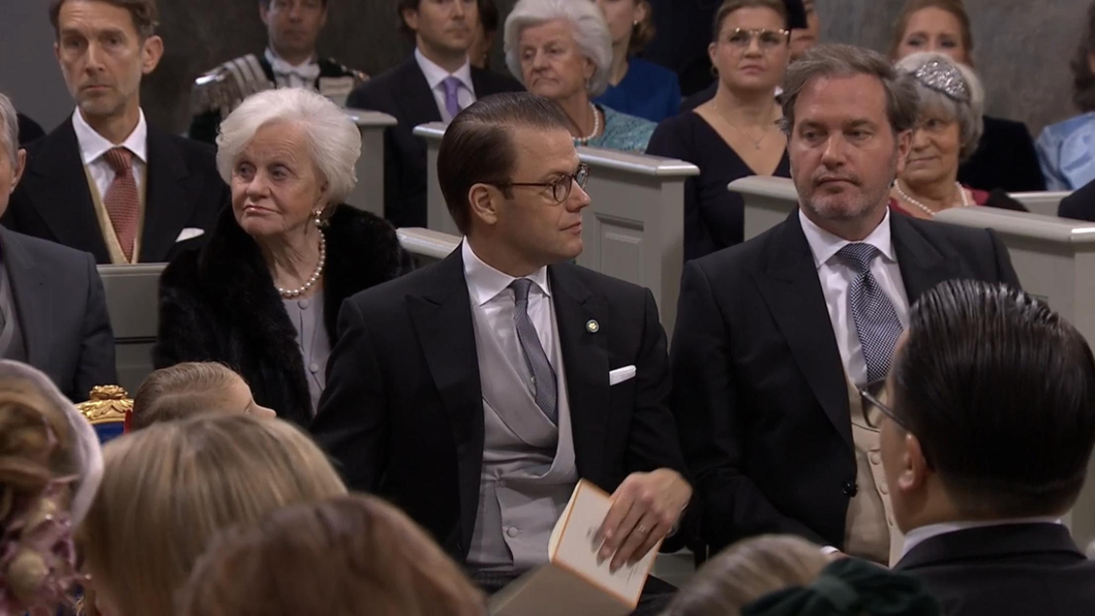 Was Prinz Daniel und Christopher O'Neill wohl durch den Kopf ging?   Foto: Screenshot
