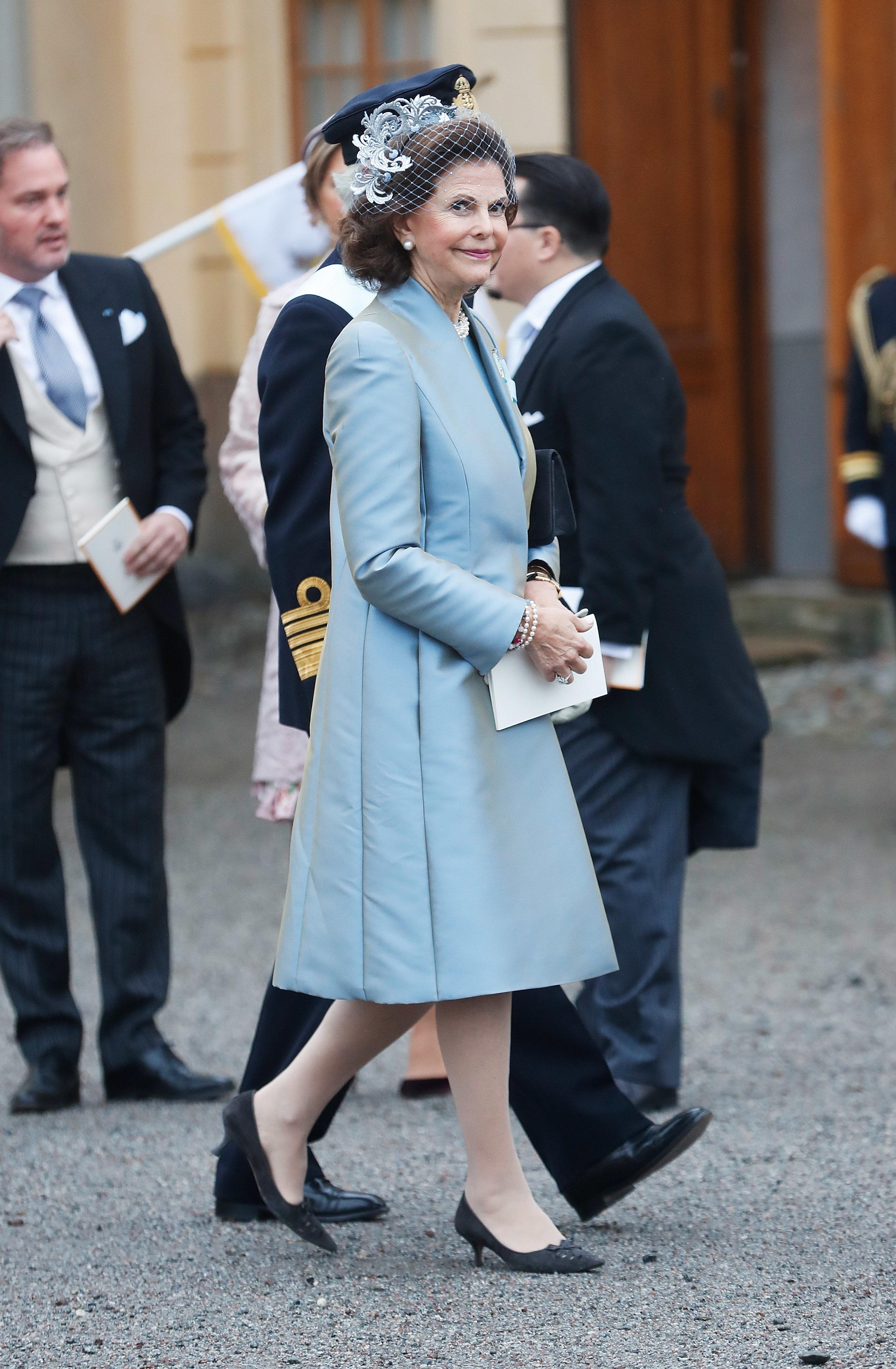 Für ihre Stilsicherheit bekommt Königin Silvia viele Komplimente   Foto: Getty Images