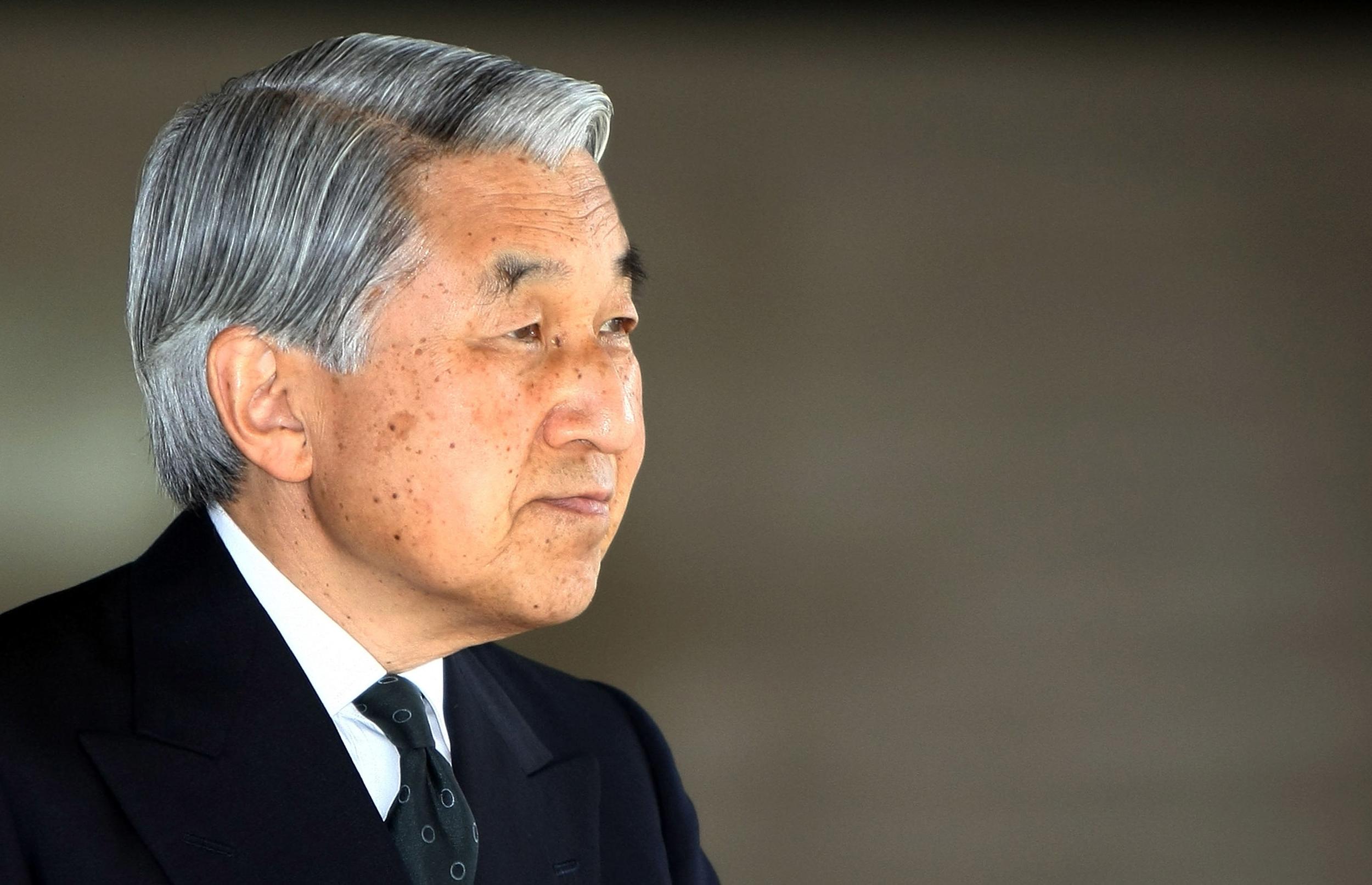 Kaiser Akihito ist am Ende seiner Kräfte. Er hat seine Abdankung bekannt gegeben   Foto: Getty Images