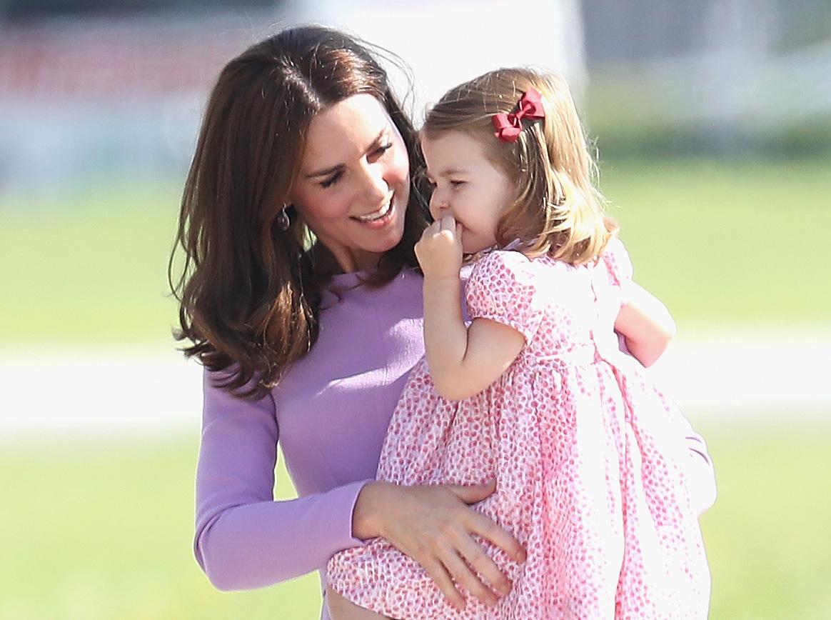 Ob die kleine Charlotte die nächste Steffi Graf wird?   Foto: Getty Images