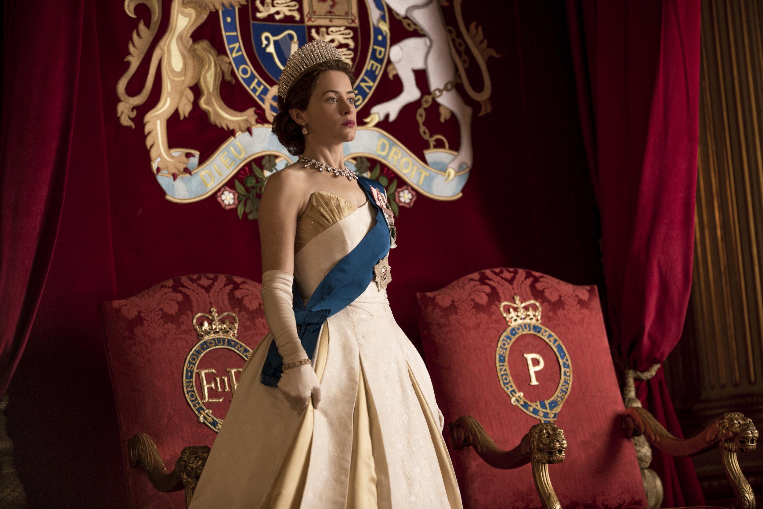 Queen Elizabeth   Foto:Robert Viglasky / Netflix