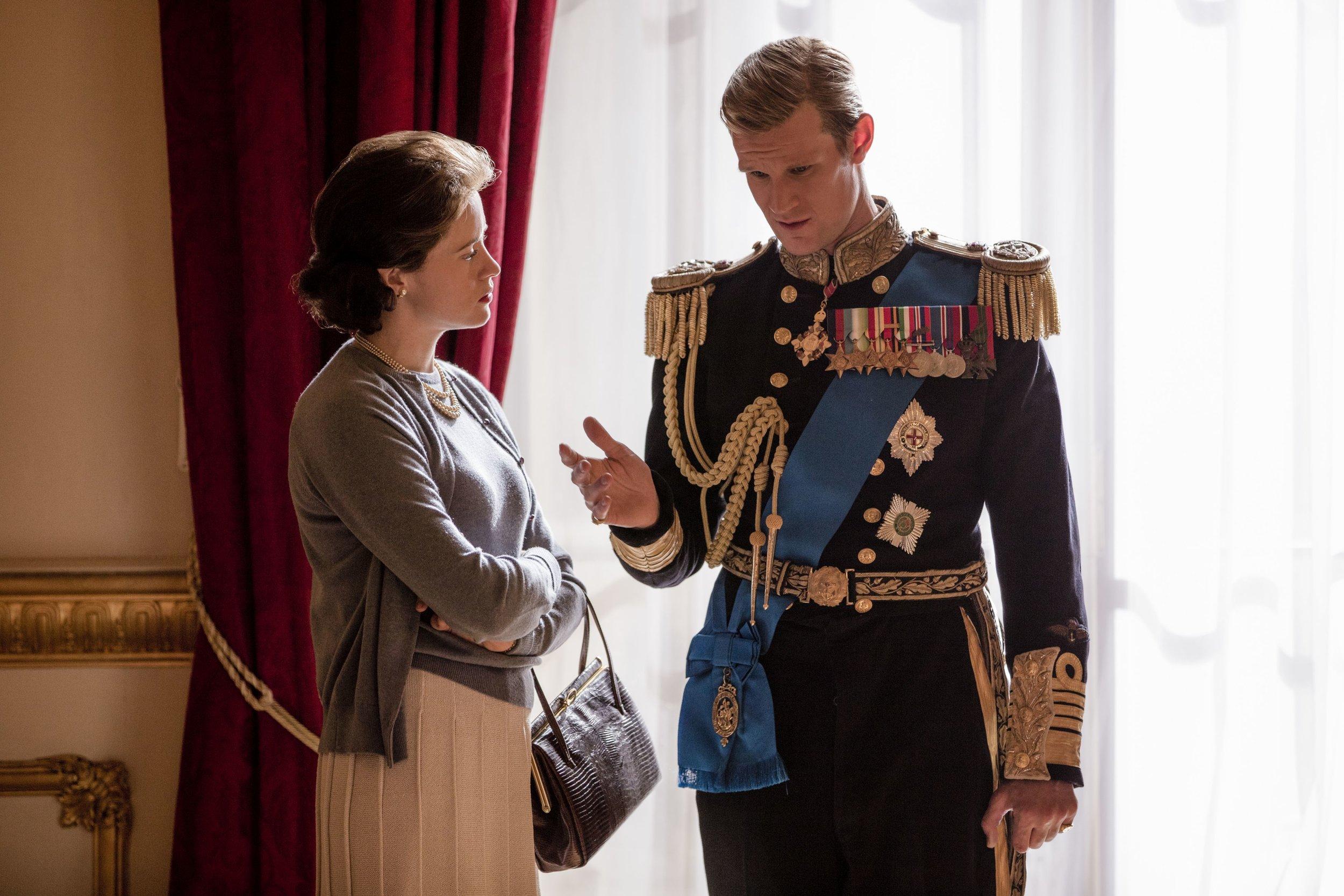 Die Ehe von Elizabeth und Philip wird auf die Probe gestellt. Betrügt der Prinz seine Ehefrau etwa?    Foto:Robert Viglasky / Netflix