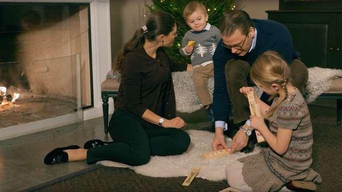 So verbringt die Familie von Kronprinzessin Victoria die Vorweihnachtszeit    Foto: Kungahuset.se