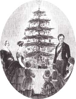 Königin Victoria und Prinz Albert feiern Weihnachten  Foto:  Gemeinfrei