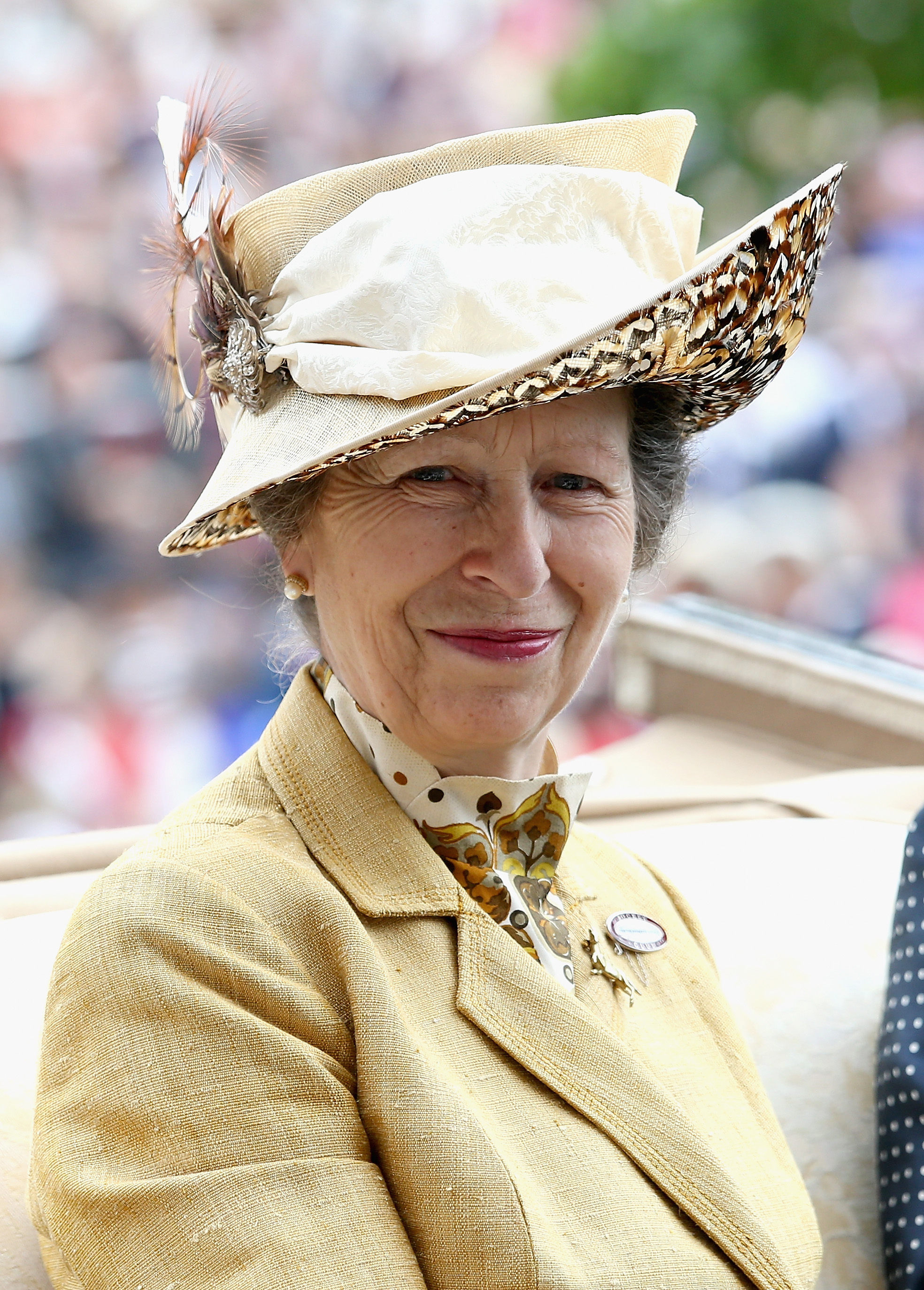 Ihre Disziplin hat sich Prinzessin Anne von ihrer Mutter abgeschaut    Foto: Getty Images