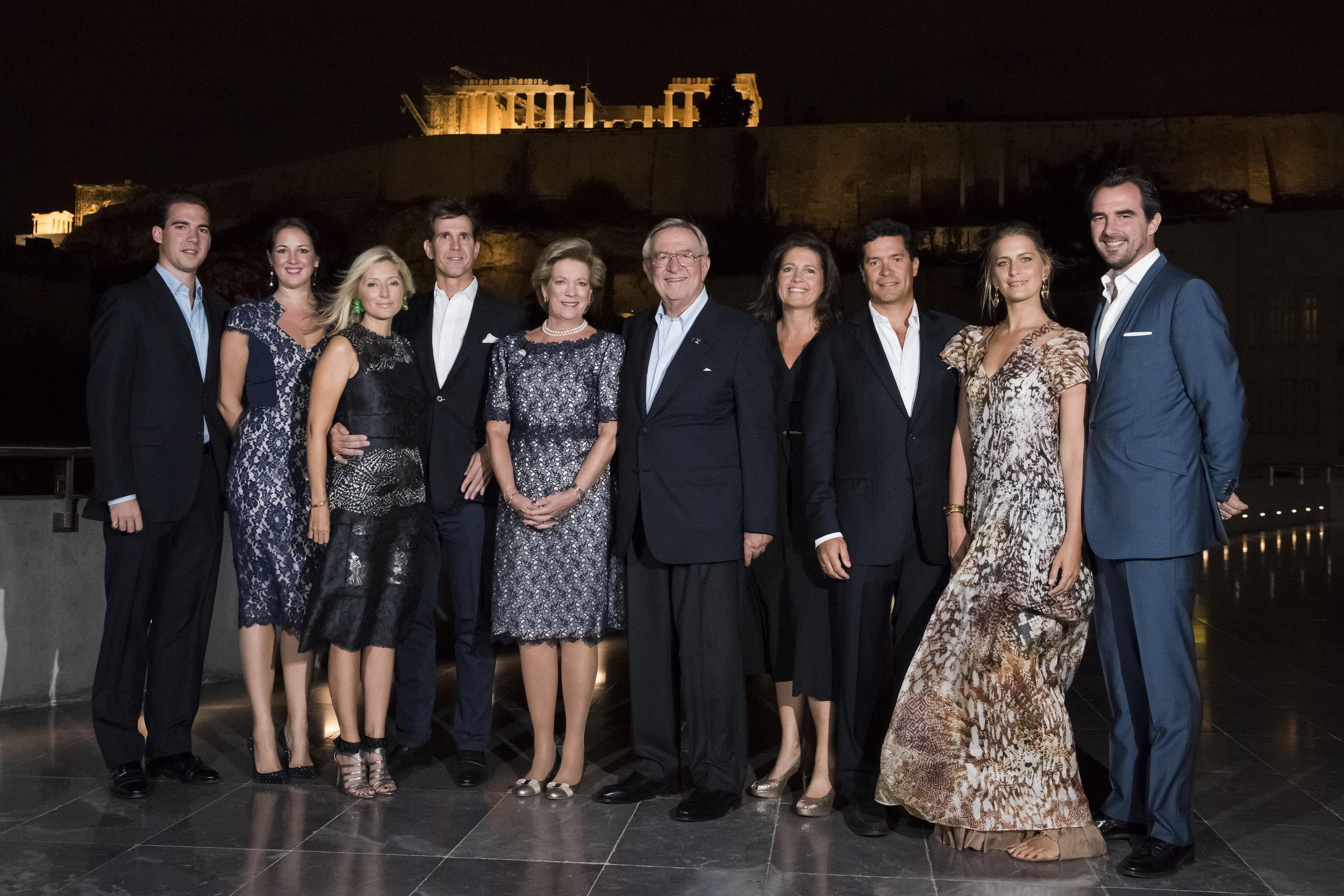 Das Königshaus von Griechenland   Foto: Greek royal family