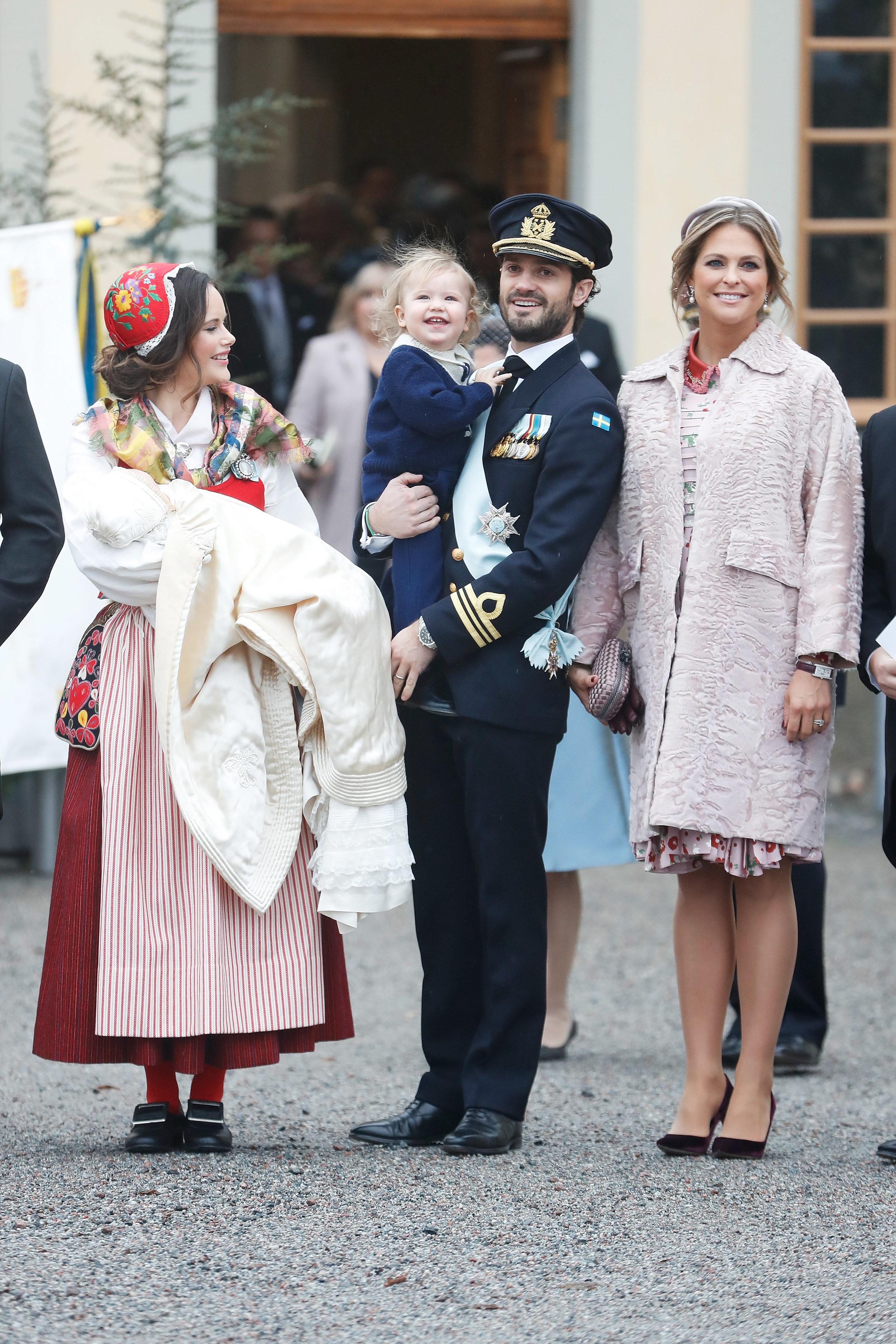 Für ihren teuren Mantel bekam Prinzessin Madeleine sehr viel Kritik    Foto: Getty Images
