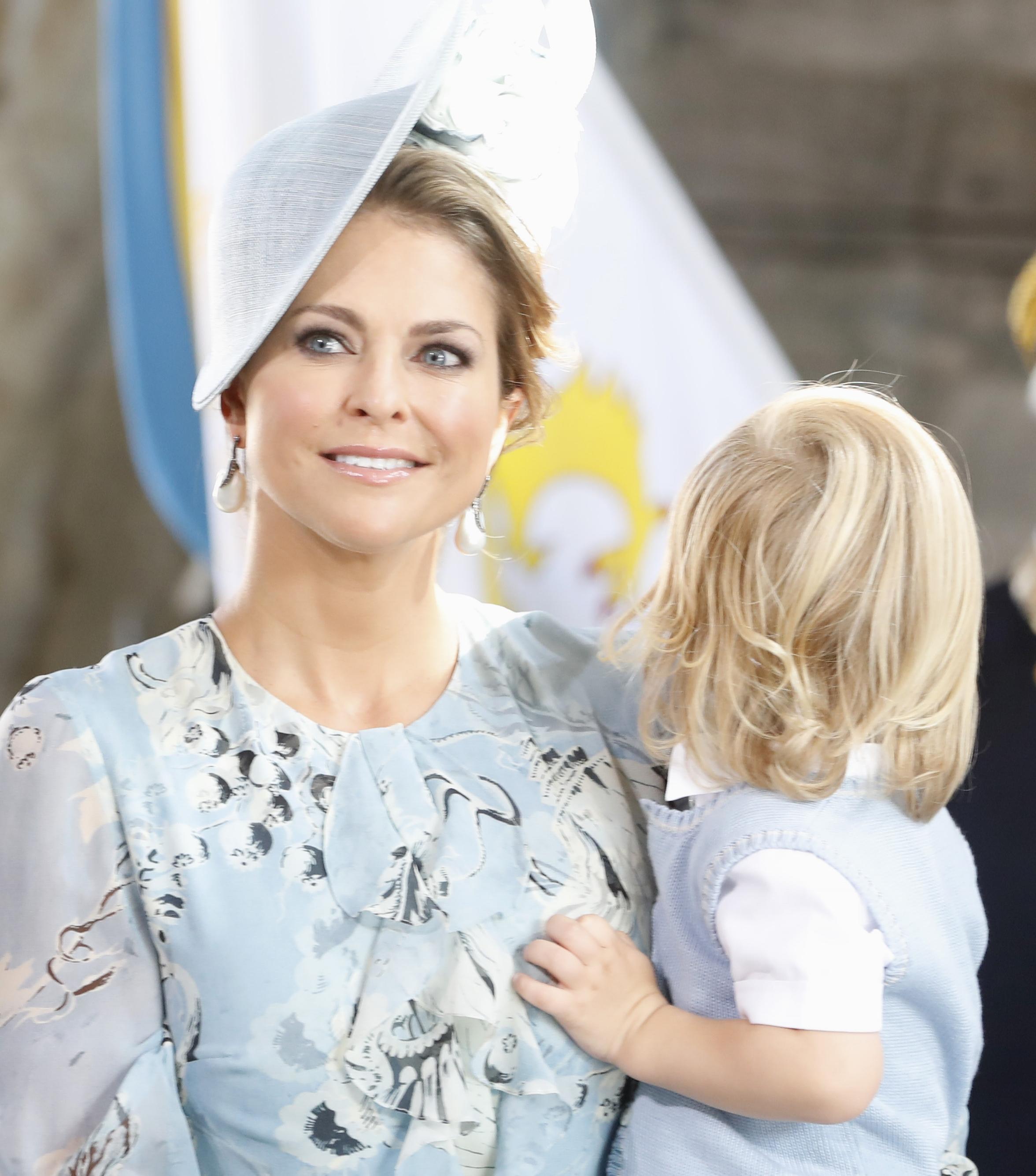 Prinzessin Madeleine erwartet im März ihr drittes Kind. Man fragt sich, ob eine Schwangere so viel bitterböse Kritik gut wegstecken kann...    Foto: Getty Images