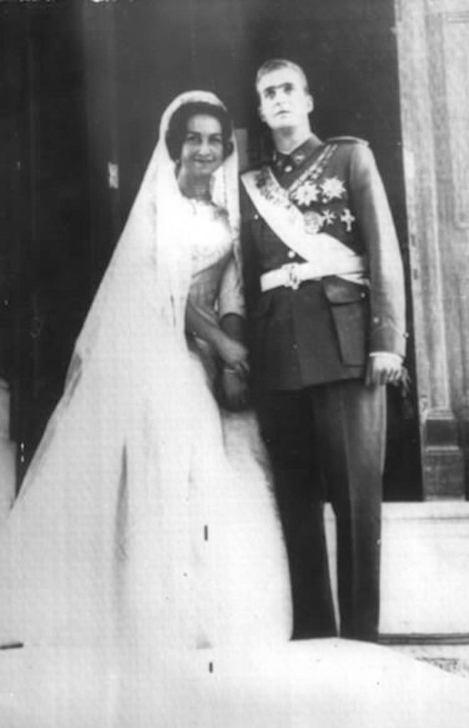 Juan Carlos und Sofia heiraten in Athen    Foto:Palacio de la Zarzuela
