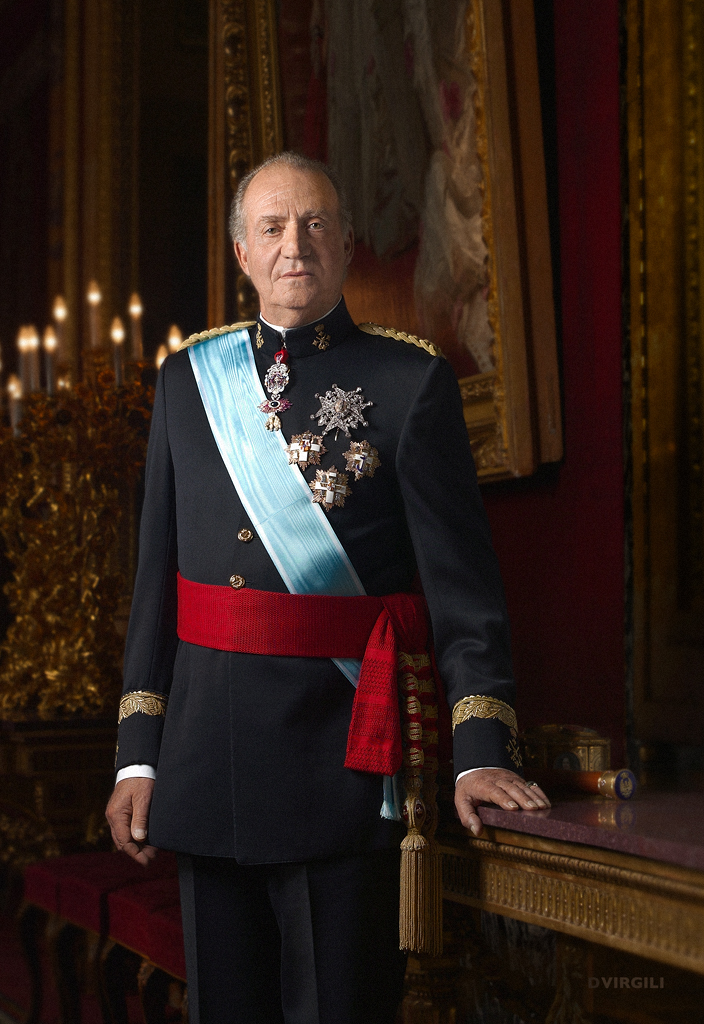 Heute gilt Juan Carlos für viele als gefallener Held    Foto: Casa real, D.Virgili