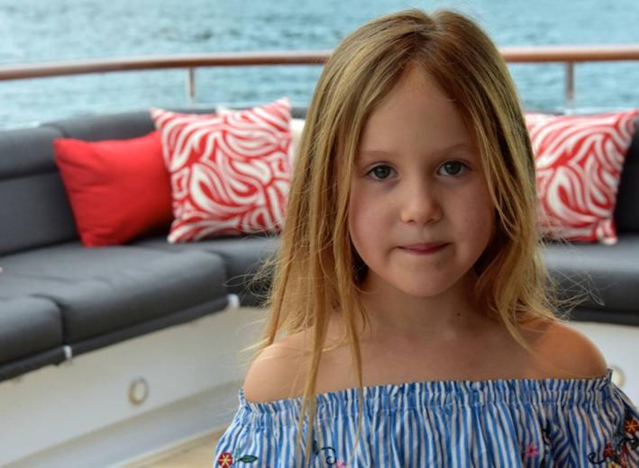 Prinzessin Josephine ist 26 Minuten jünger als ihr Zwillingsbruder Vincent    Foto: Kronprinzessin Mary von Dänemark