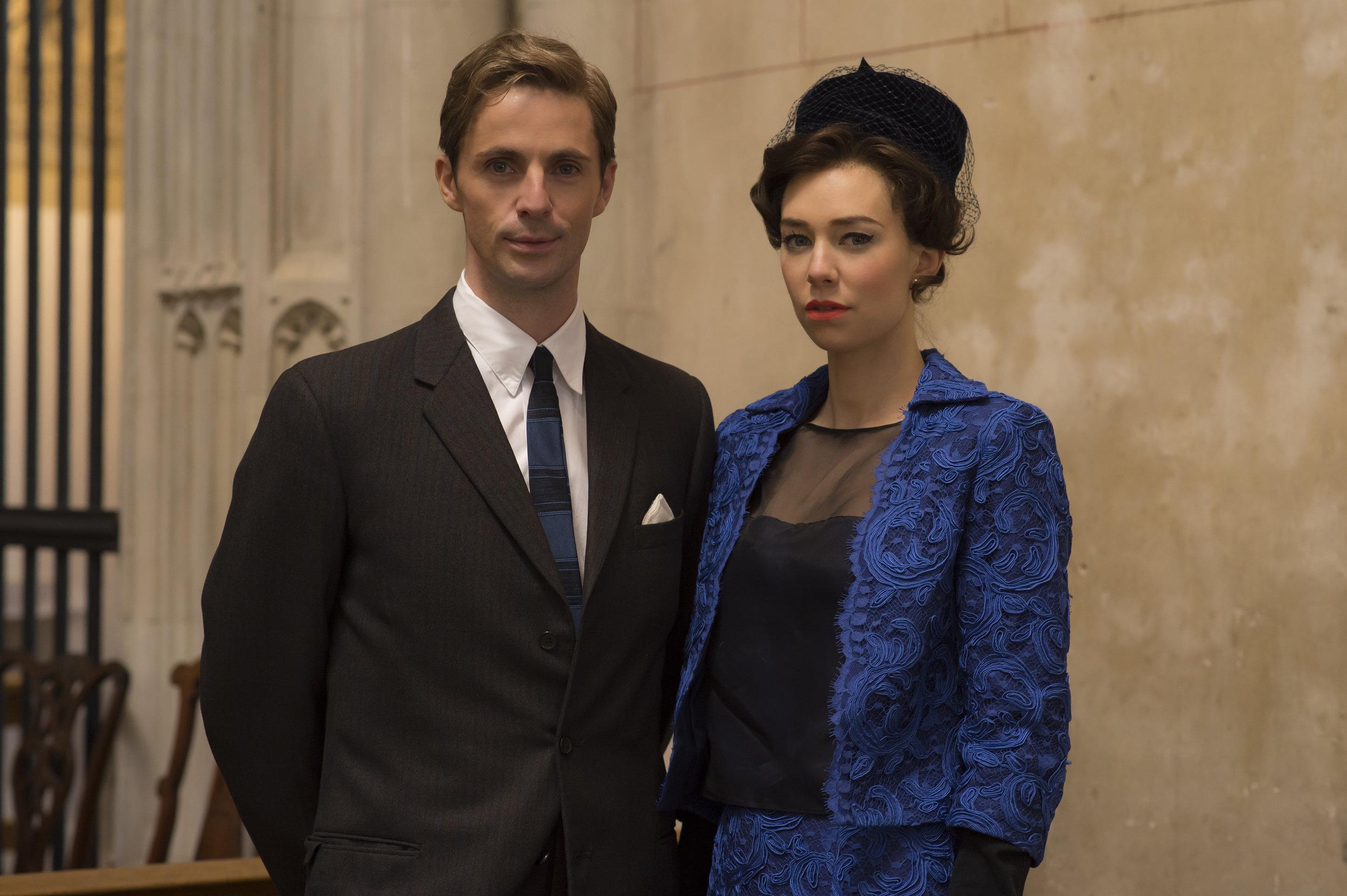 Antony Armstrong-Jones (Matthew Goode) und Prinzessin Magaret (Vanessa Kirby) führen ein Leben gegen jede Regeln Foto: Alex Bailey / Netflix