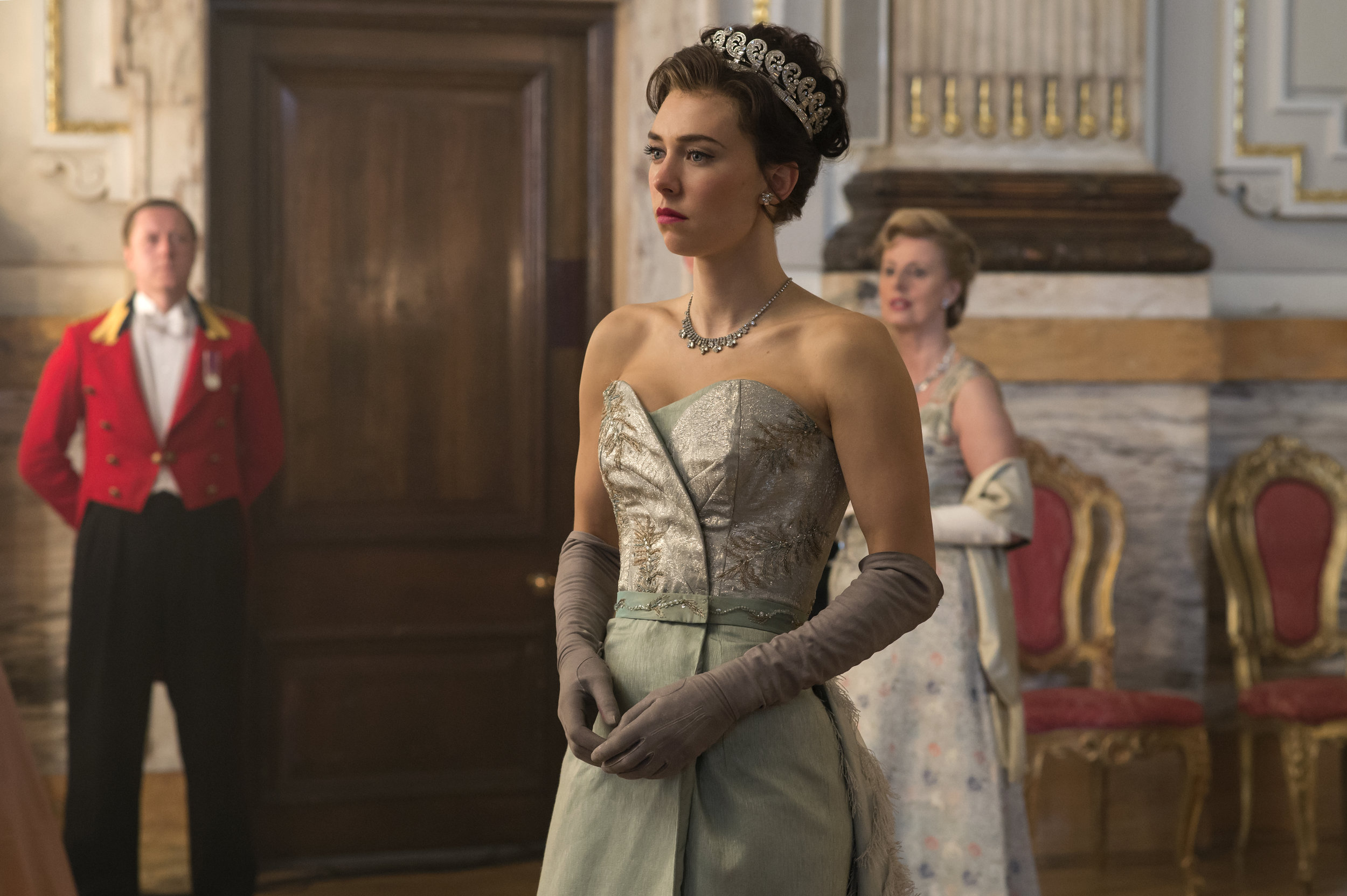 "Vanessa Kirby begeistert in ihrer Rolle als Prinzessin Margaret in ""The Crown""    Foto: Alex Bailey / Netflix"