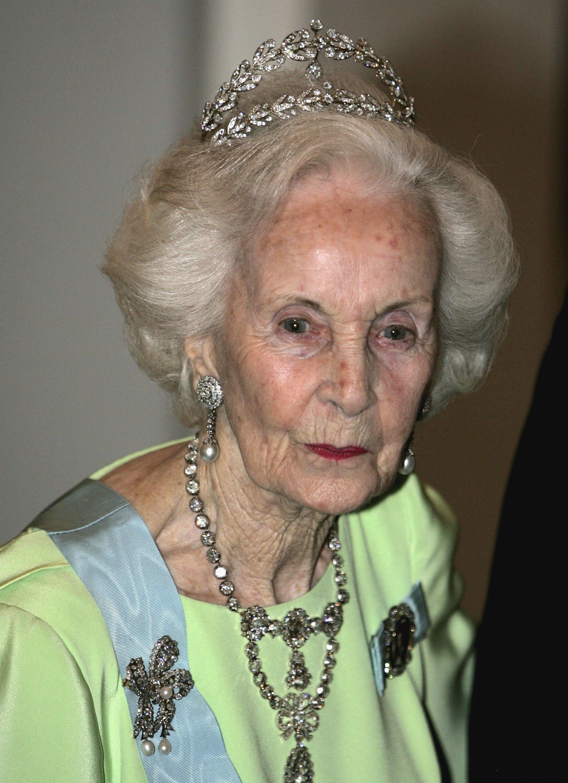 Prinzessin Lilian starb mit 97 Jahren. Drei Jahre zuvor wurde ihre Alzheimer-Erkrankung öffentlich gemacht Foto: Getty Images