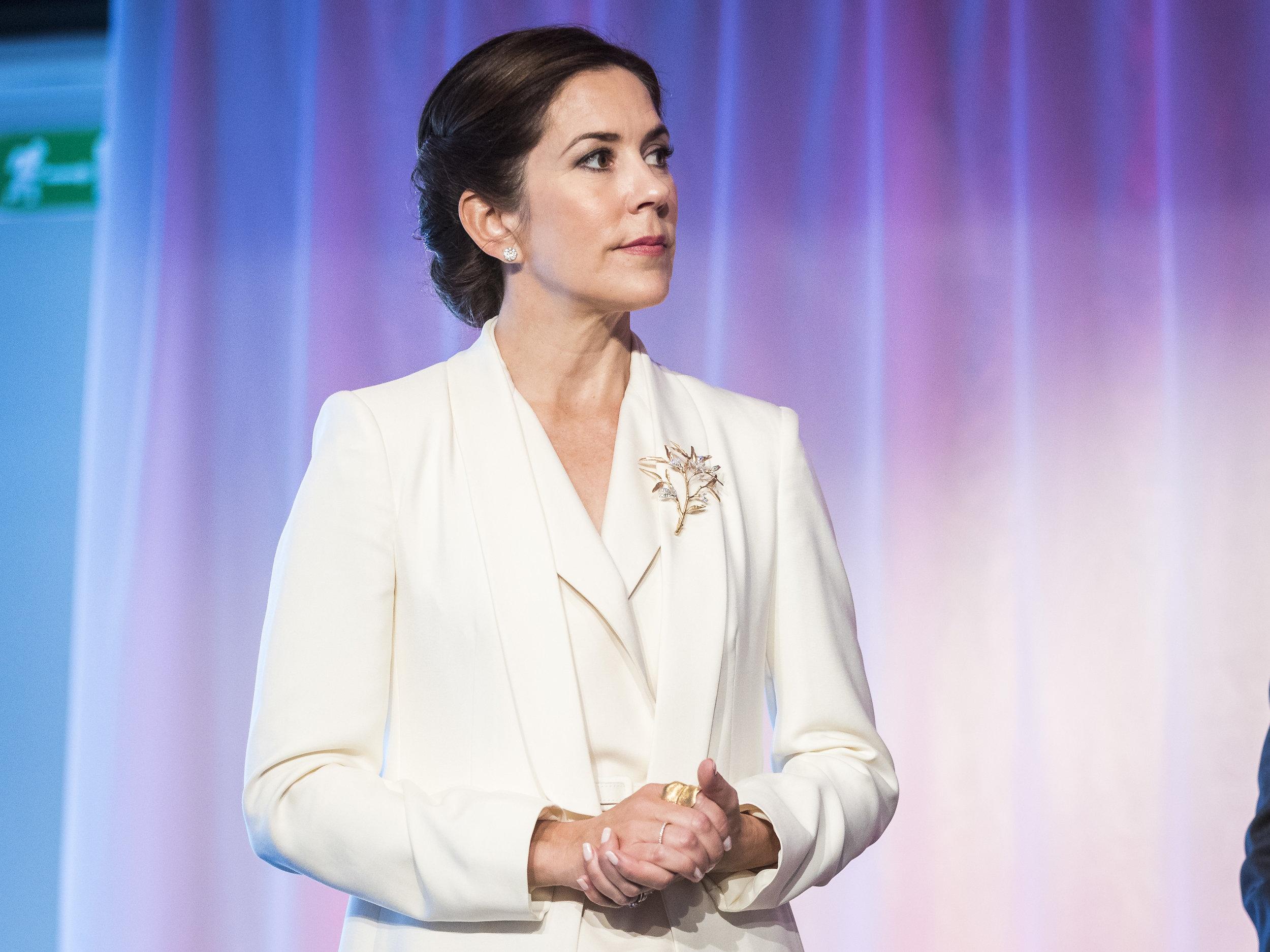 Der dänische Hof geht jetzt gegen die dreiste Werbung mit Kronprinzessin Mary vor  .  Foto:Getty Images